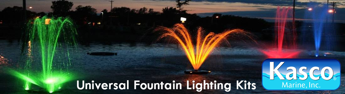 Kasco Universal Lighting Packages  sc 1 st  Half Off Ponds & Kasco Marine Universal Lighting Packages